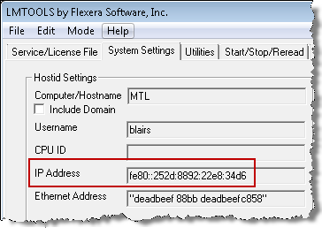 Checking if you have the IPv6 version of the Autodesk