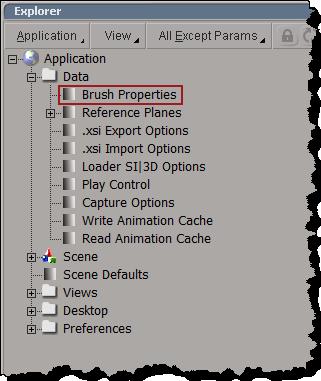 DataBrushProperties