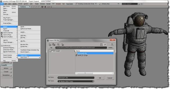ImportFBX-3DS-Astronaut