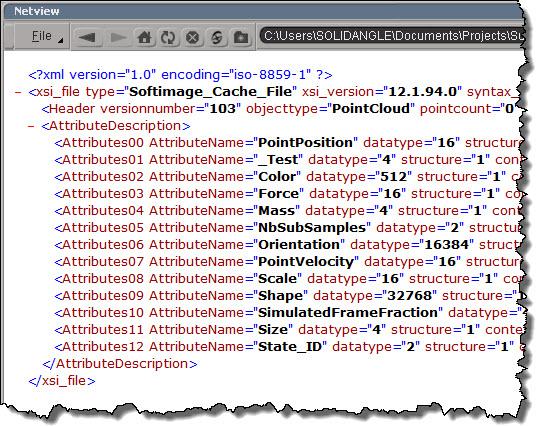 DumpHeader_XML